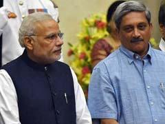 PM Modi Praises Manohar Parrikar For His Agusta Speech In Rajya Sabha