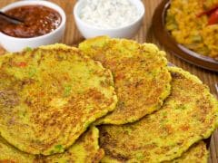 Watch: Filling And Weight-Loss-Friendly, This Vegetable Pancake Is An Ideal Breakfast Recipe For Dieters