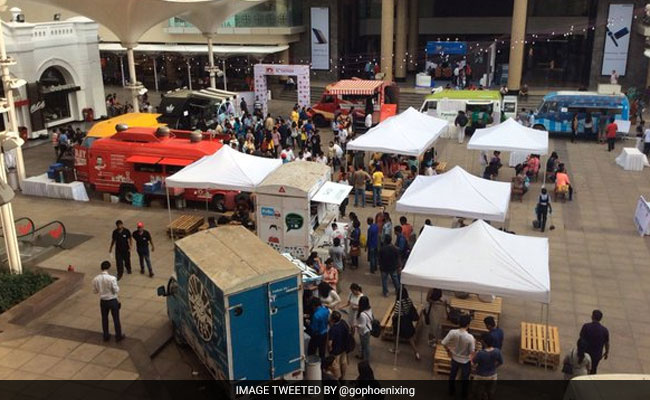 'Food Truck Festival' Brings Mumbai Street Food On Wheels