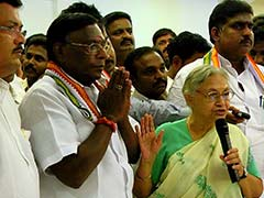 V Narayanasamy To Be Chief Minister Of Congress Government In Puducherry