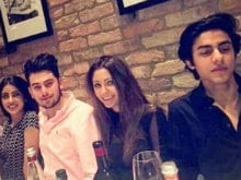 School's Out. Big B's Granddaughter, Shah Rukh's Son Spotted at Dinner