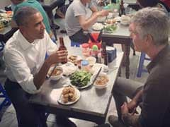 Anthony Bourdain Picks Up $6 Tab After Lunch With President Obama