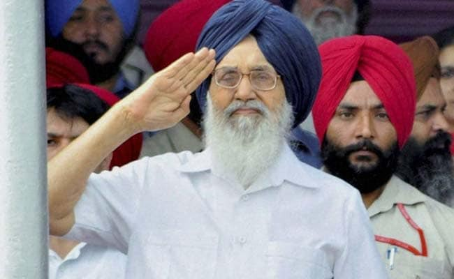 Drug Problem In Punjab Much Less Than In Other States: Parkash Singh Badal