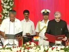 Pinarayi Vijayan, Toddy Tapper's Son, Takes Oath As Kerala Chief Minister
