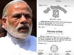 PM's Degree Authentic, No Pressure On Us: Delhi University