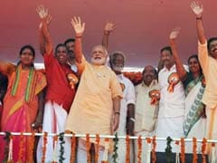 'Afraid of Solar <i>Dhamaka</i>': PM Modi's Dig At Congress In Kerala Rally