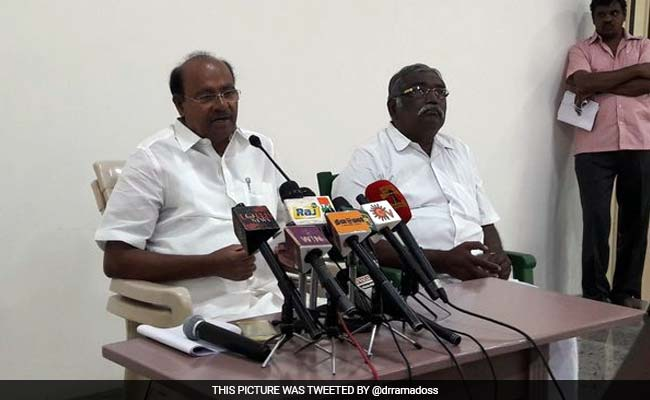 Tamil Nadu Government's Inaction Affected Interests Of Students, Says Ramadoss