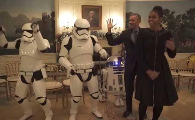 How POTUS, FLOTUS and Zuckerberg Celebrated Star Wars Day