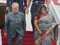 President Pranab Mukherjee Arrives In China To Boost Bilateral Ties