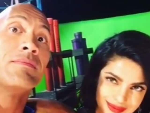 Priyanka Chopra is Major 'Trouble,' Even if You Happen to be The Rock