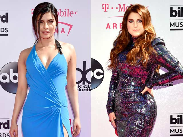 Priyanka Chopra Has a 'Woman Crush' on Meghan Trainor