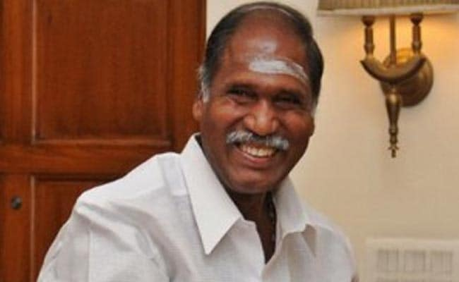 NR Congress Leader Rangasamy Stakes Claim To Form Government in Puducherry