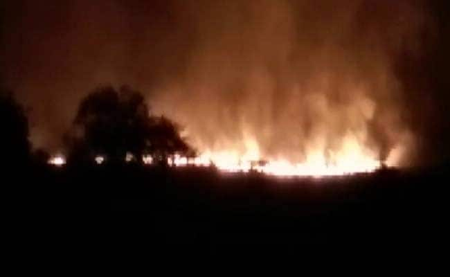 16 Dead In Fire At Pulgaon, Army's Largest Ammunition Depot In India