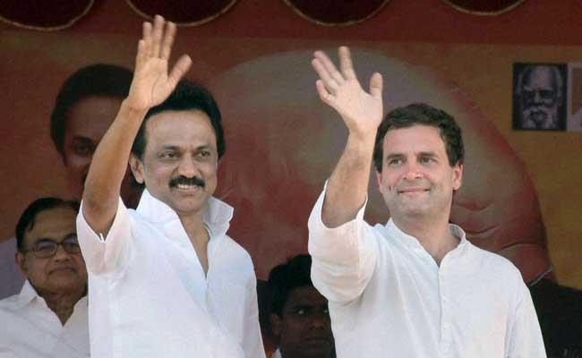 डीएमके प्रमुख एमके स्टालिन ने पीएम पद के लिए राहुल गांधी का नाम किया आगे, बोले- सभी को साथ देना चाहिए