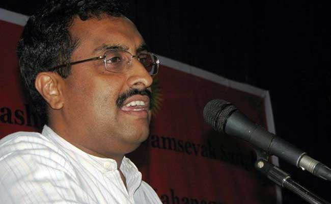 'Pak Not Only Problem Of India, Has Become Global Challenge': Ram Madhav