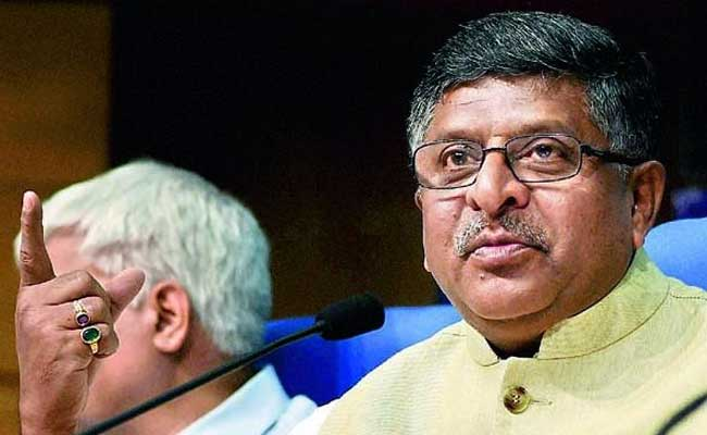 'Blue Whale Type' Games Totally Unacceptable, Says Ravi Shankar Prasad