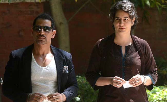 Priyanka Gandhi Vadra Says 'No Relationship' With Robert Vadra's Finances