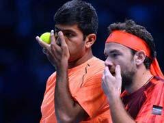 मैड्रिड ओपन टेनिस के फाइनल में रोहन बोपन्ना और फ्लोरिन मर्जिया की जोड़ी हारी