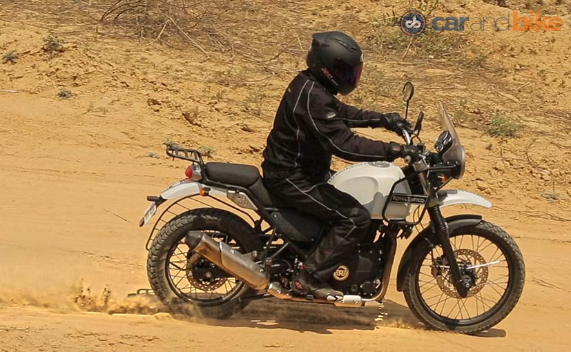 (Royal Enfield Himalayan - good off-road capability)
