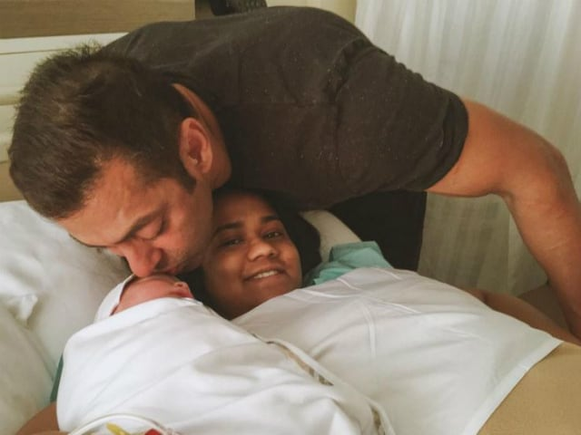 From Salman, an Adorable Picture of the Youngest Member of Khandaan