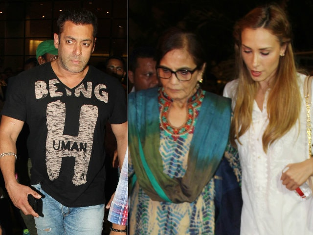 Salman Khan's Airport Entourage Included Iulia Vantur
