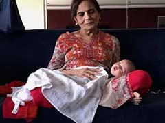 अपनी नानी की गोद में कौन है यह नन्हा सा बच्चा, सलमान खान ने शेयर की है तस्वीर
