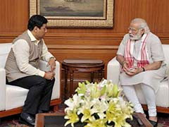 Sarbananda Sonowal Meets PM Modi, Discusses Government Formation In Assam