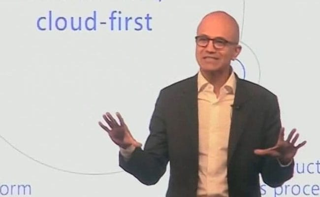 Microsoft Working To Make A Positive Impact In World: Satya Nadella
