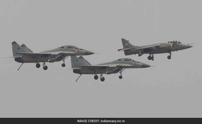 Navy De-Inducts Sea Harriers, Makes Way For MiG 29K Fighter Aircraft
