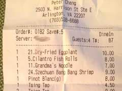 Servers Trash Customers In Private Note On Check - Then Forget To Delete It