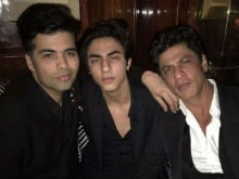 Karan Johar Celebrates Birthday With Shah Rukh, Aryan, Navya in London