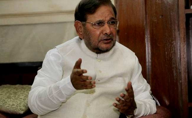 Nitish Kumar Chose Path Of Power Over Party Philosophy: Sharad Yadav