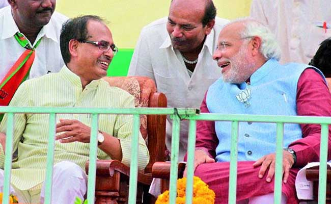 shivraj singh chouhan with pm modi