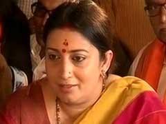 '<i>Bharat Mata Ki Jai</i>' Doesn't Make Me Saffron Demon: Smriti Irani To NDTV