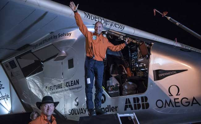 Solar Powered Airplane's Flight To New York City Postponed