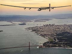 Solar-Powered Plane Lands In Arizona On Round-The-World Flight