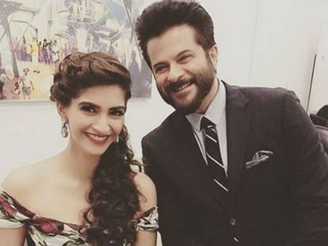 Ahead of Sonam's Cannes Red Carpet Appearance, a Message From Anil Kapoor