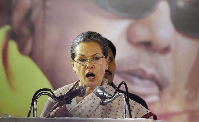 Sonia Gandhi To Hit Campaign Trail In Bijapur Today, After 2 Years