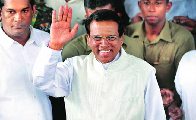 Maithripala Sirisena Inducts 7 Ministers, Including A Tamil From Jaffna