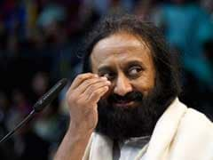 Sri Sri Ravi Shankar Holds Special Meditation Session For NDRF Personnel