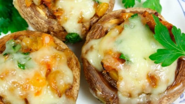 10 best mushroom recipes ndtv food stuffed mushroom forumfinder Images