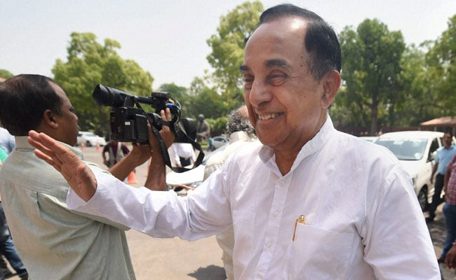 BJP Leader Subramanian Swamy Says India Must Celebrate Its Unity