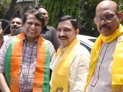 Suresh Prabhu, YS Chowdary File Nomination For Rajya Sabha From Andhra