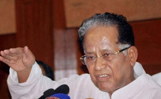 BJP Trying To Trigger 'Bloodbath': Tarun Gogoi On Citizens' Charter