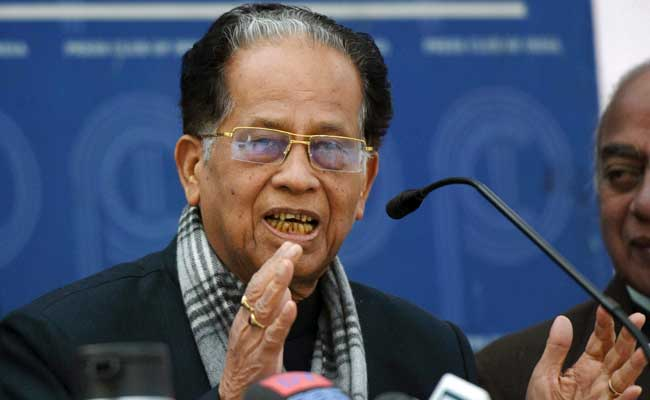 Citizenship Bill: BJP Wants To Destroy Assam, Says Tarun Gogoi