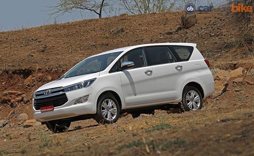 Toyota Innova Crysta Automatic Constitutes 50 Per Cent Of