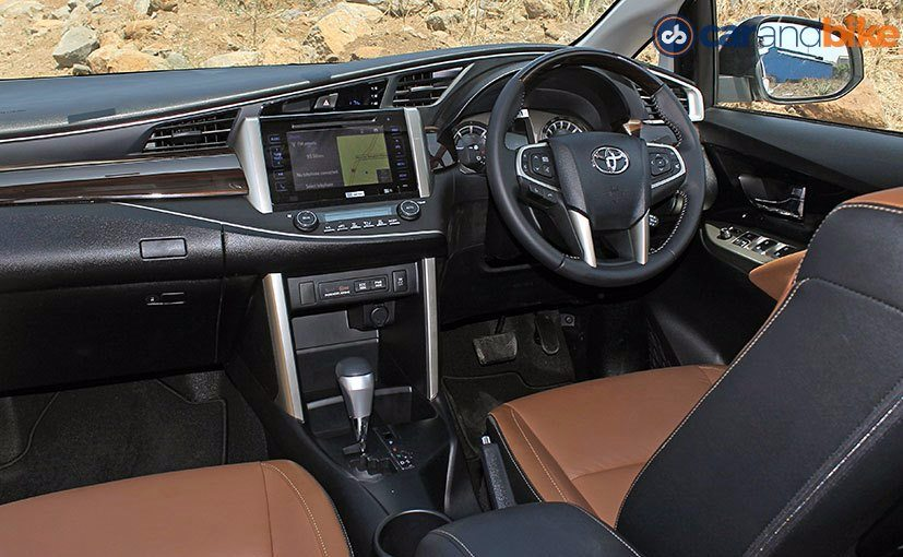 toyota innova crysta petrol now available for bookings deliveries to begin in august ndtv. Black Bedroom Furniture Sets. Home Design Ideas