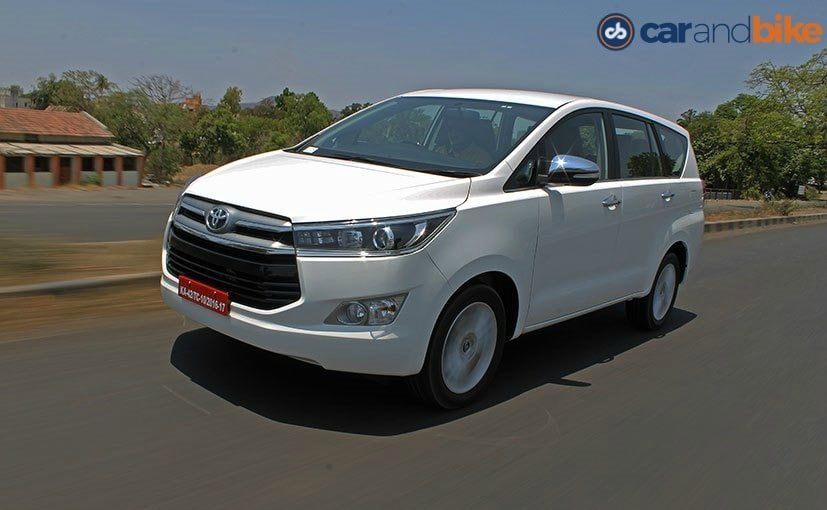 New Toyota Innova Crysta Launched Price Starts At Rs Lakh - All toyota cars with price