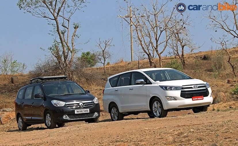 Comparison Review: Toyota Innova Crysta vs Renault Lodgy