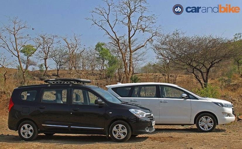Comparison Review Toyota Innova Crysta Vs Renault Lodgy